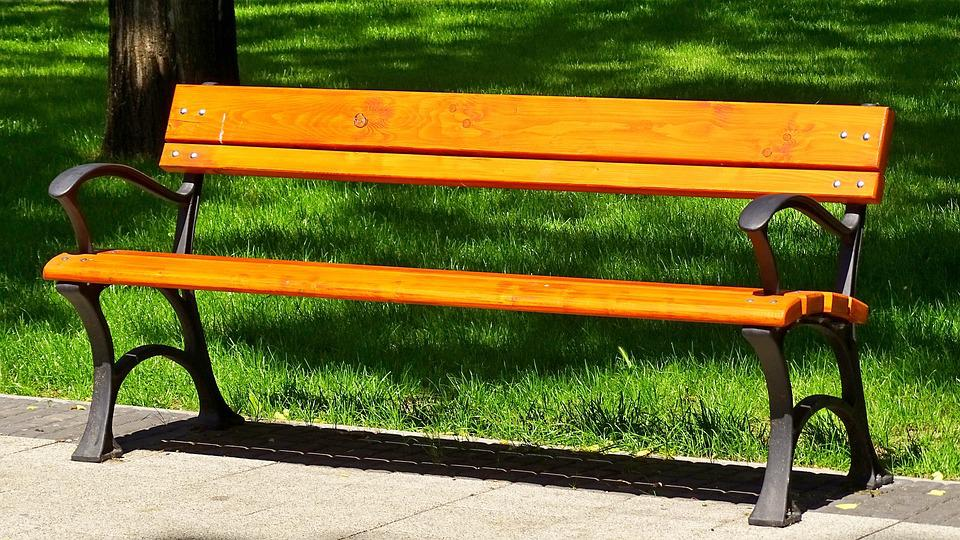 Park Bench, Wooden Bench, Bank, Rest, Tranquility Base