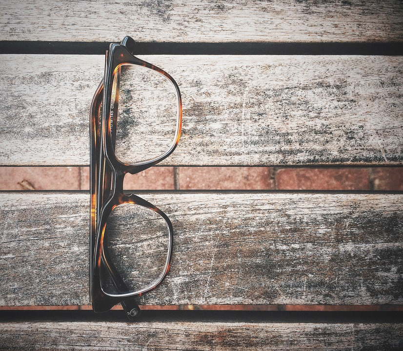 Glasses, Closeup, Wooden, Boards, Planks, Nerdy, Hip