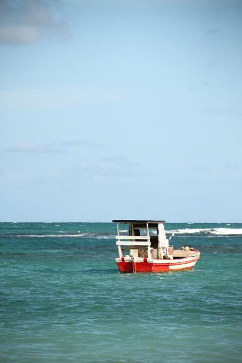 Boat, Mar, Water, Landscape, Vessel, Wooden Boat