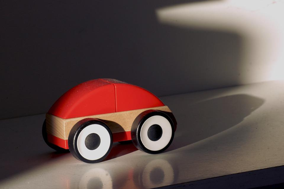 Wooden Car, Toy Car, Simply, Children Toys, Toys