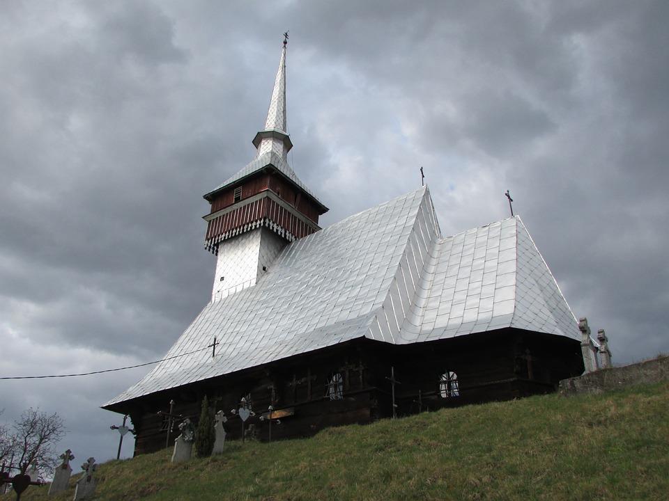 Wooden Church, Bradet, Bihor, Crisana, Transylvania