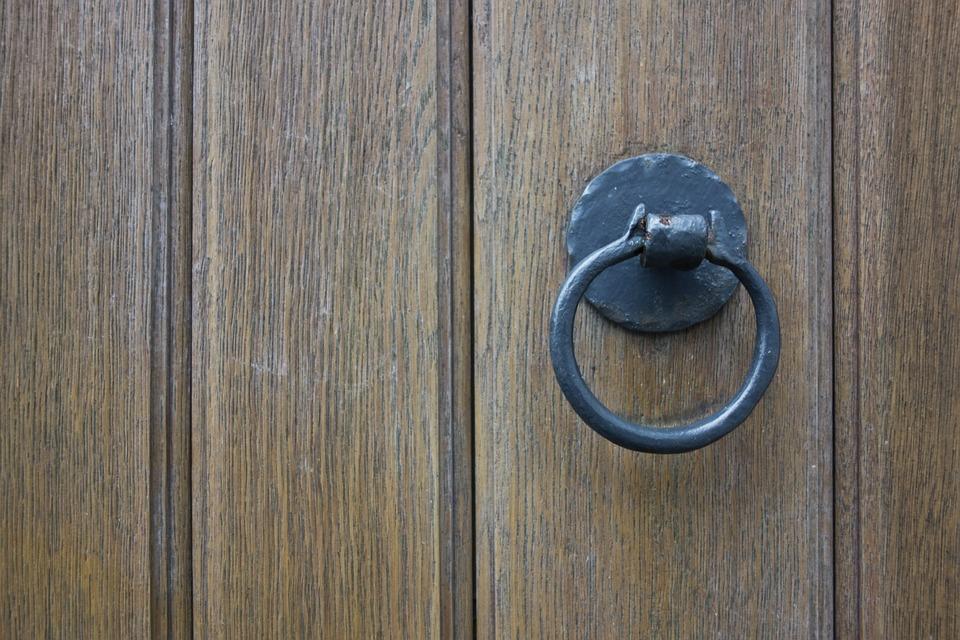Door, Wooden Door, Door Knob, Input, Wood, Old, Goal