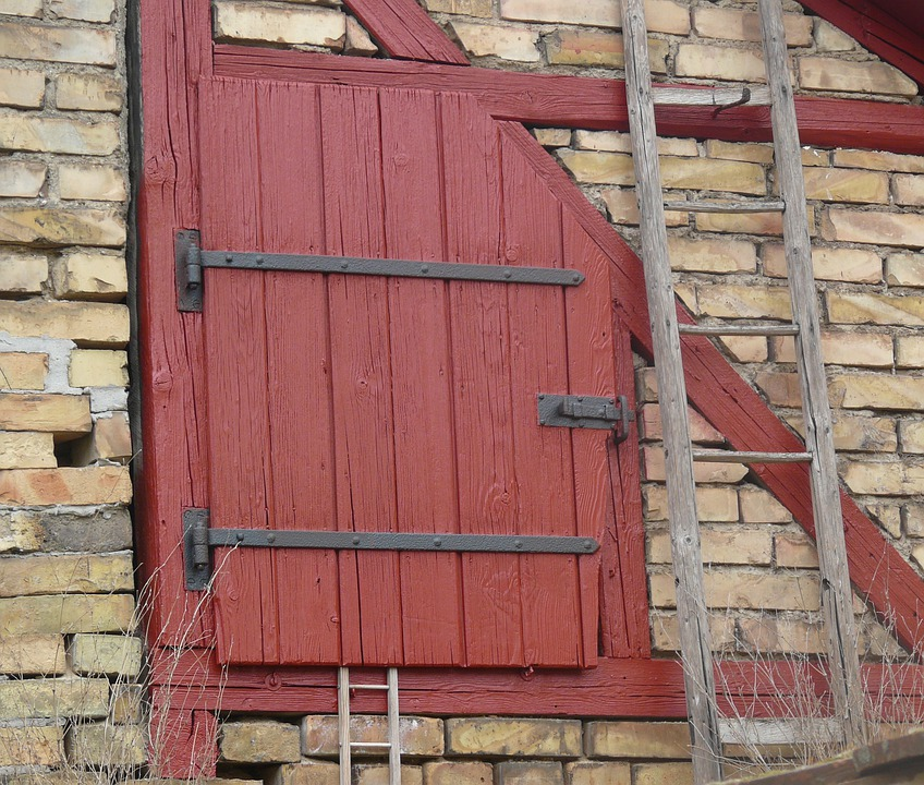 Door, Wooden Door, Roof Barn Door, Rustic
