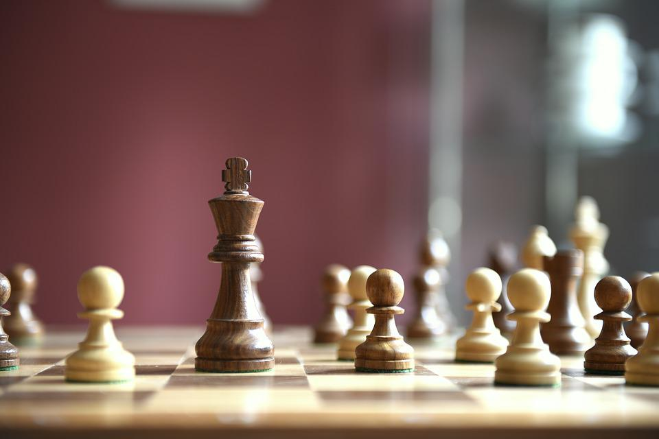 Chess, Game Board, Chess Game, Wooden Figures