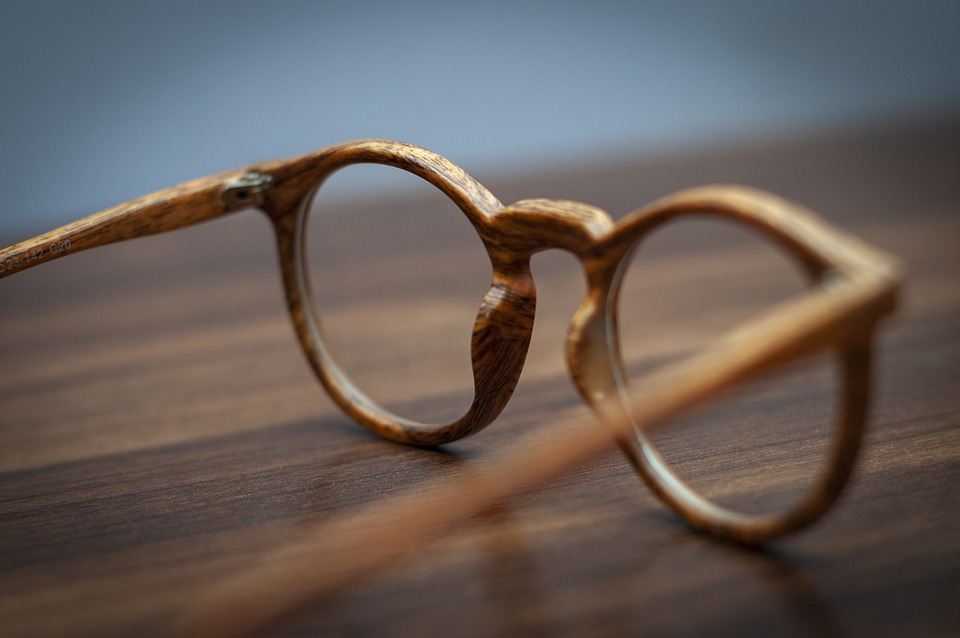 Glasses, Eye Glasses, Frame, Wooden, Texture, Brown