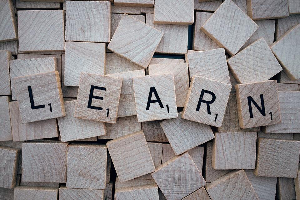 Learn, Word, Scrabble, Letters, Wooden