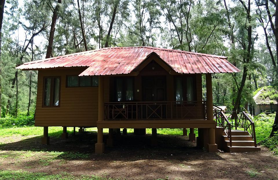 Cottage, Holday Home, Hut, Wooden, Forest, Lodge