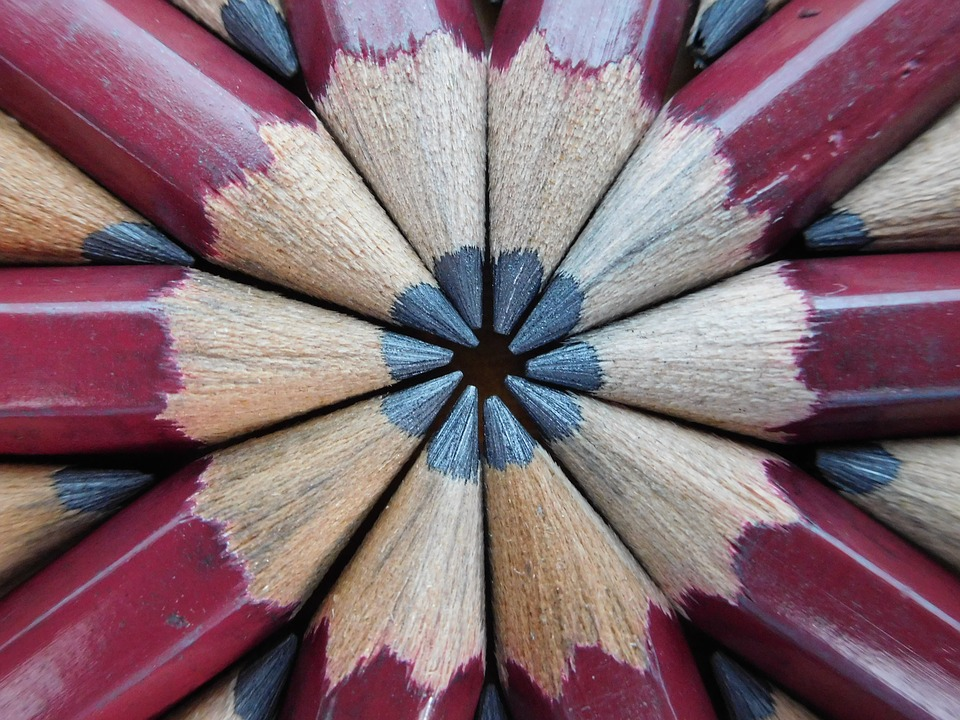 Pencils, Wooden Pencils, One Color Pencils