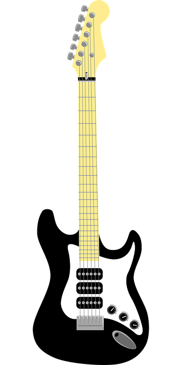 Guitar, Electric, Music, Chord, Wooden, Popular