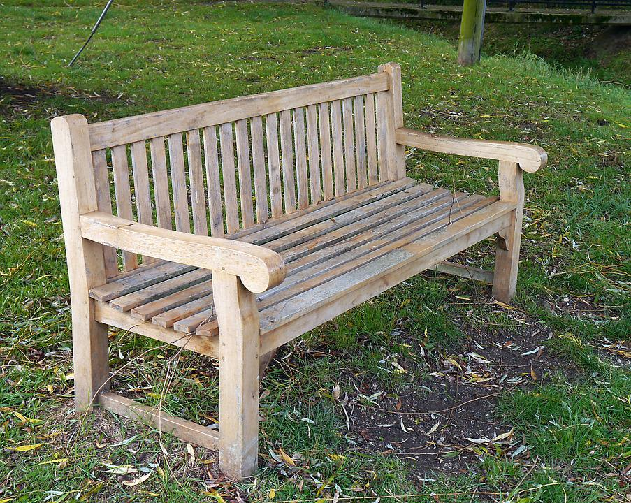 Bench, Seat, Sit, Park, Wooden, Outdoor, Furniture