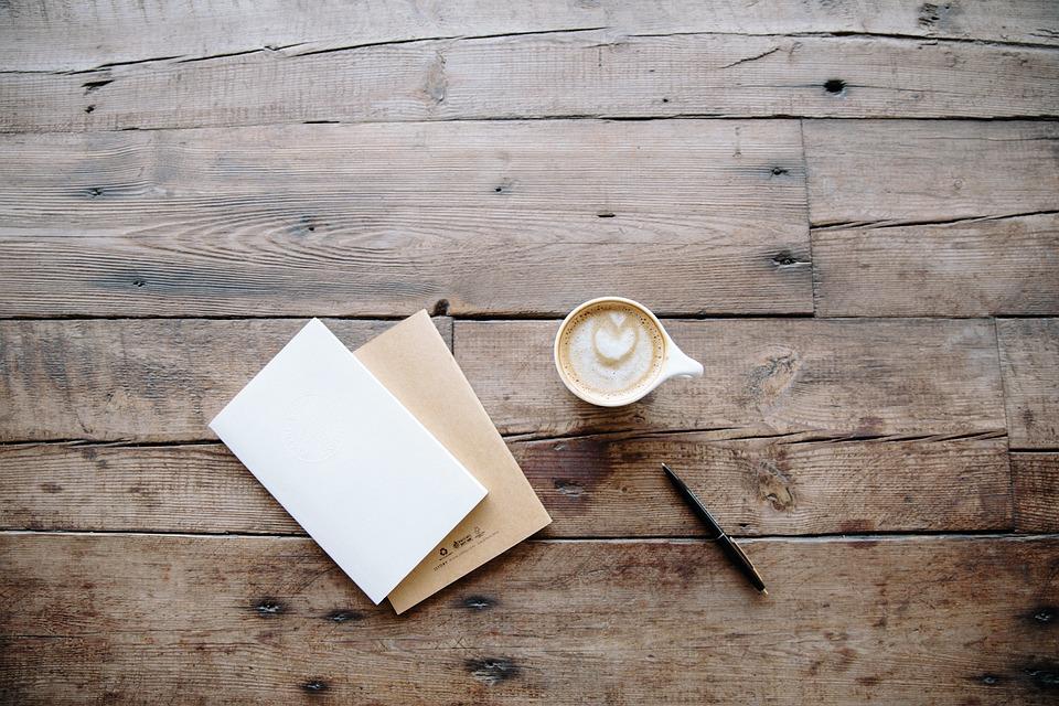 Board, Desk, Pen, Surface, Table, Wood, Wooden, Coffee