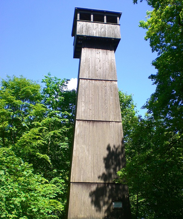 Tower, Watchtower, Wooden Tower