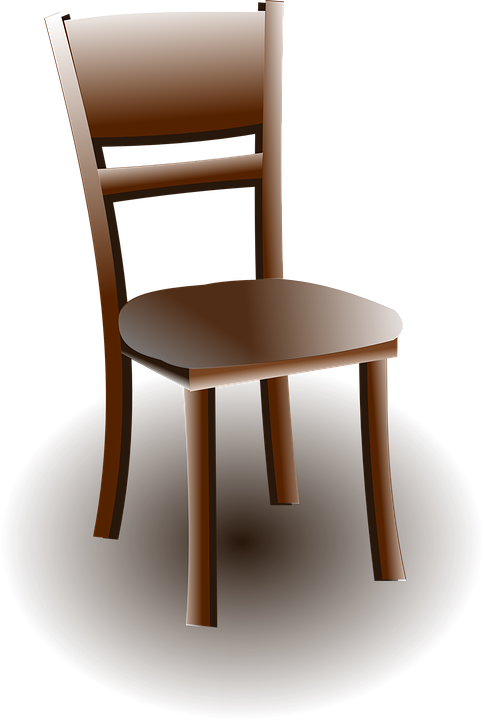 Chair, Furniture, Wood, Wooden, Brown, Sit
