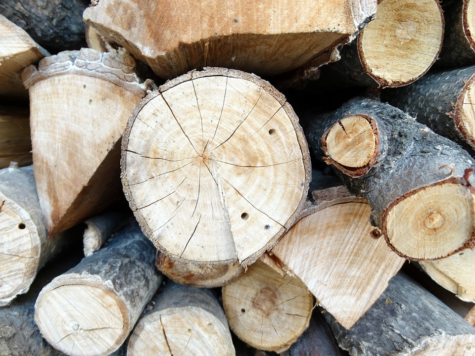 Wood, Firewood, Woodpile, Login