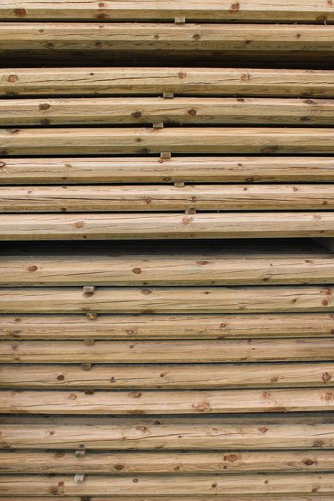 Wood, Pile, Stack, Woodpile, Material, Log