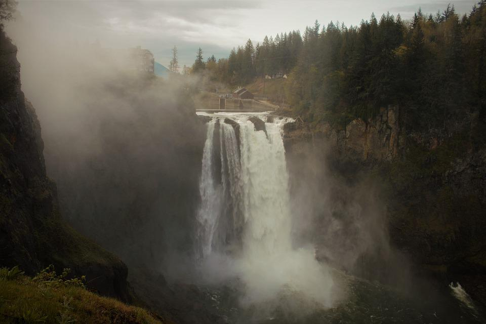 Snoqualmie, Pacific Northwest, Woods, Majestic, Seattle