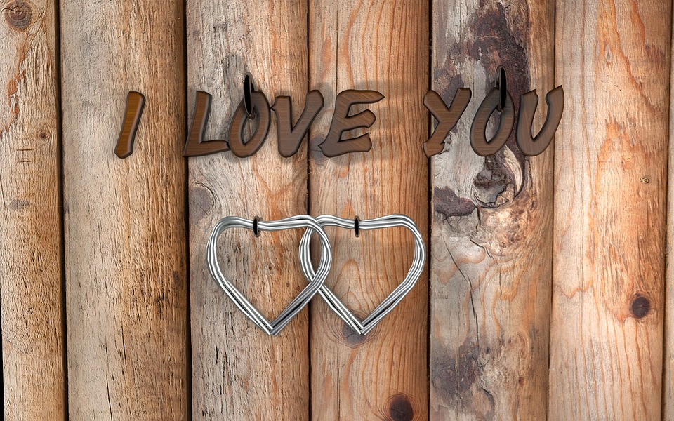 Love, Heart, Wood, Woods, Old, Background, Retro