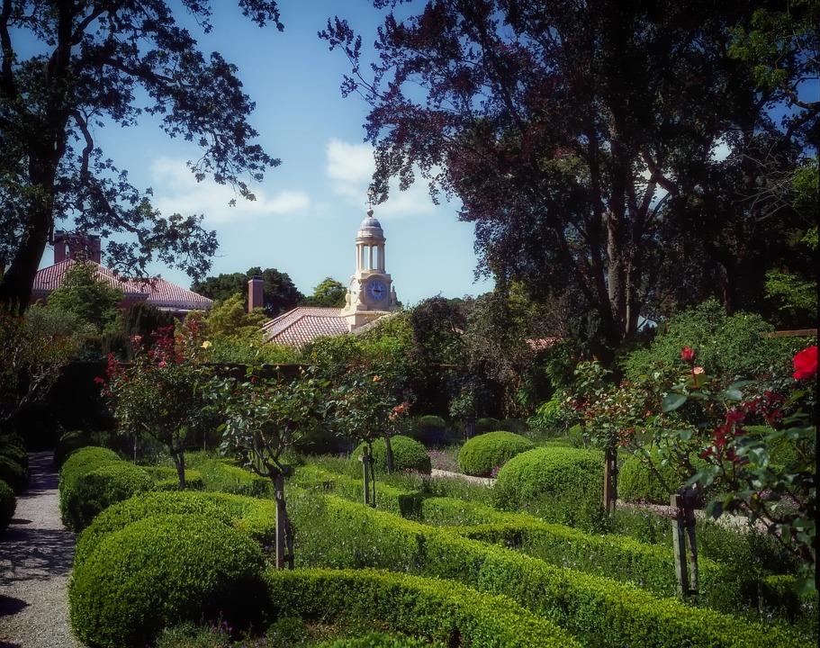Woodside, California, Filoli, Garden, Landscaping