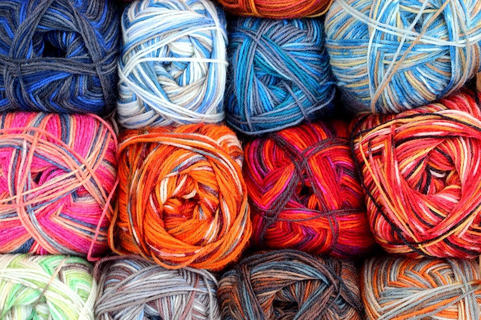 Wool, Hand Labor, Knit, Colorful, Needle, Wollknäul