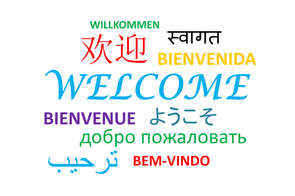 Welcome, Words, Greeting, Language, Communication