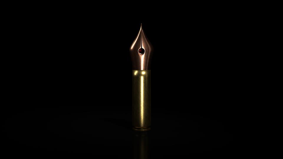 Weapon, Ammunition, Words, Pen, Feather, Pistol, Floor