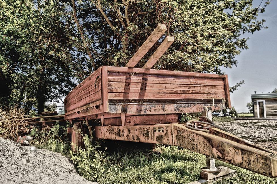 Cart, Work, Countryside