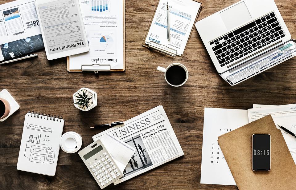 Desk, Work, Business, Office, Finance, Documents