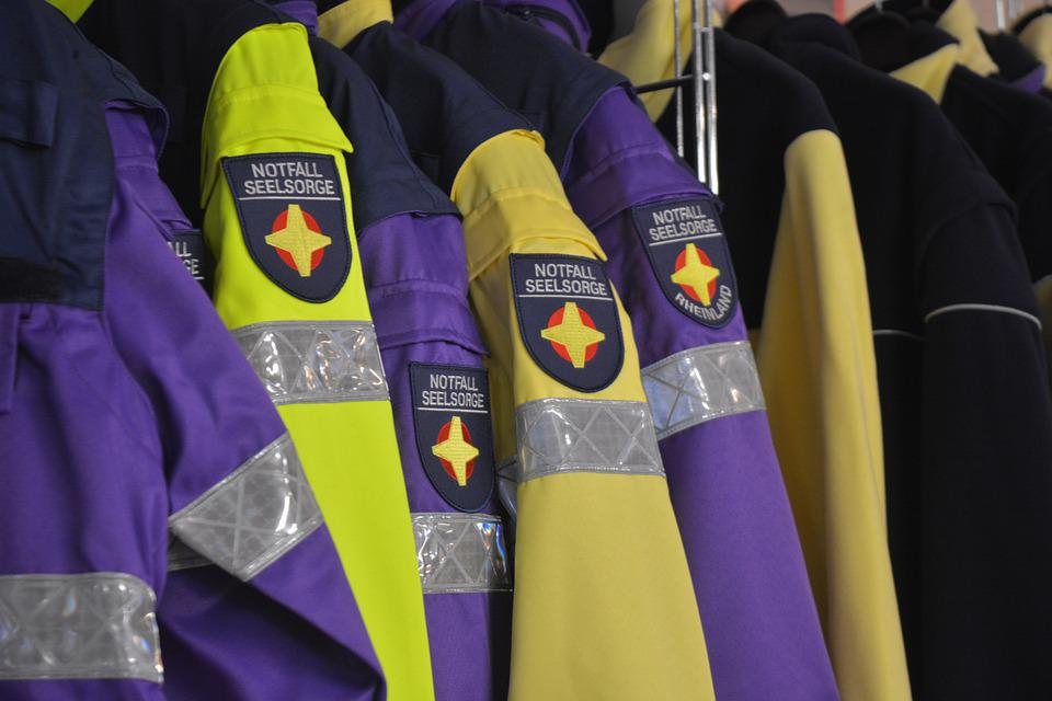 Work Jacket, Notfallseelsorge, Emergency Pastoral Care