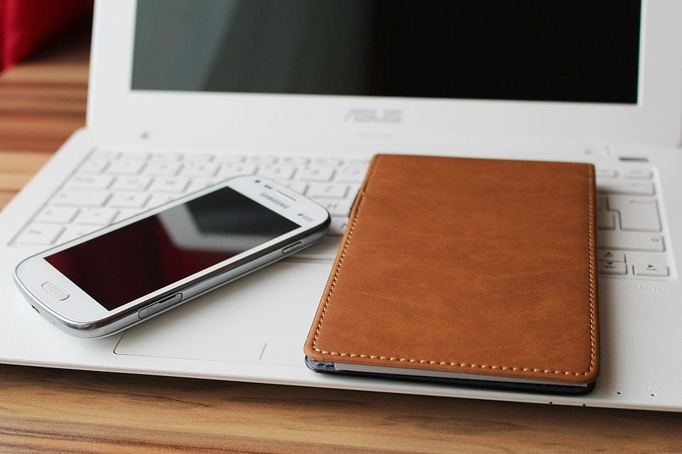 Notebook, Smartphone, Home Office, Work