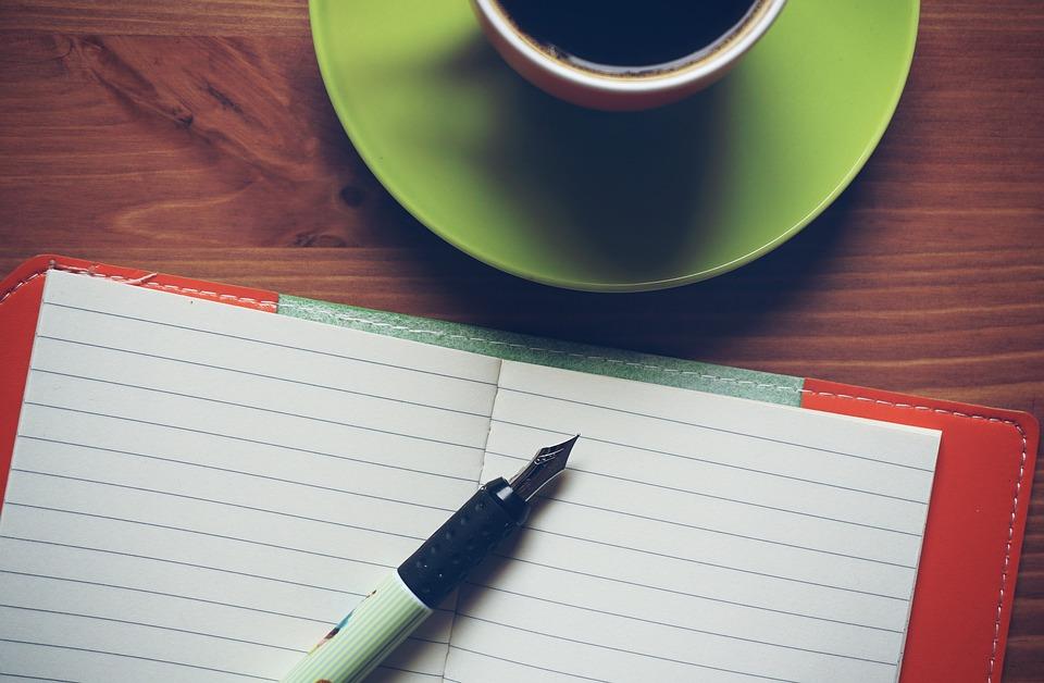 Notepad, Coffee, Notebook, Wooden, Work, Creative