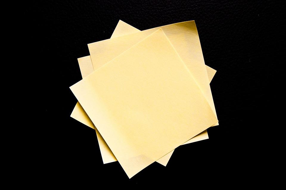 Post It, Pile, Yellow, Orange, Work, List, Notes