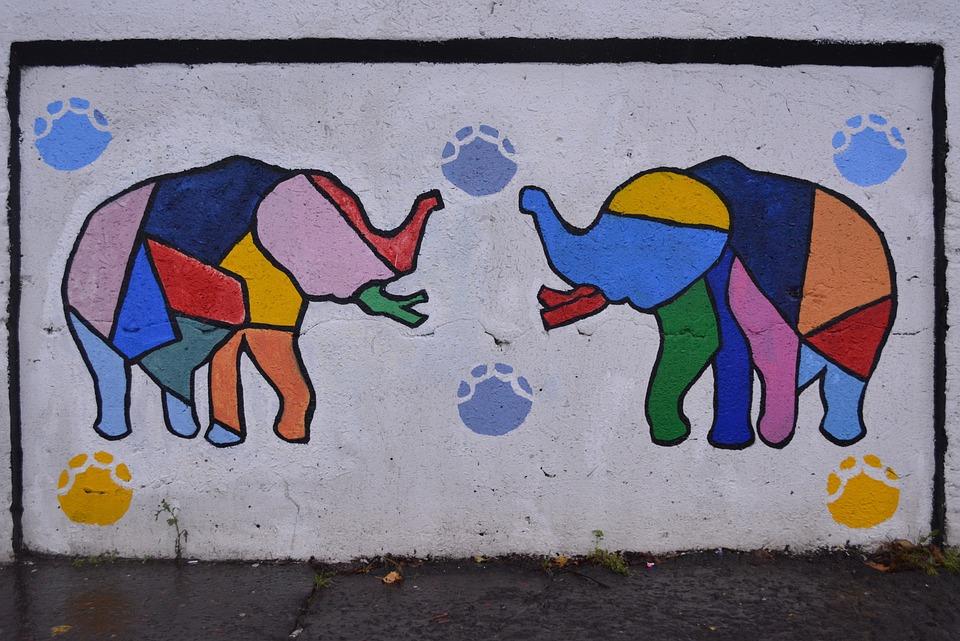 Drawing, Colors, Art, Graffiti, Work Of Art, Mural