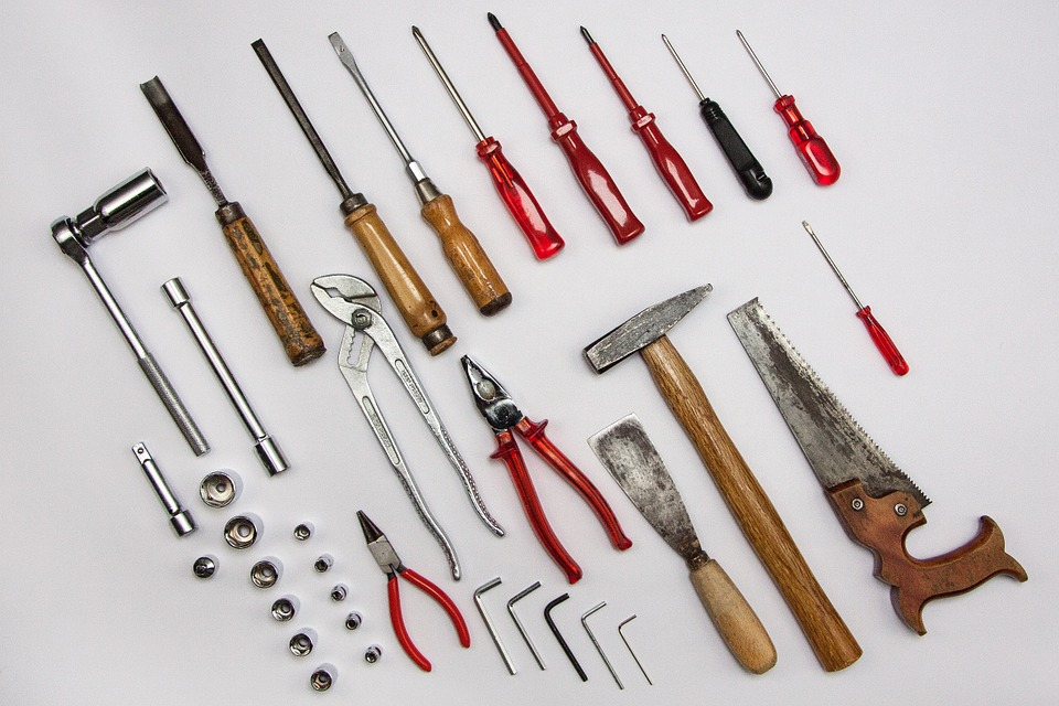Tools, Devices, Work, Craft, Allen, Rattle, Pliers