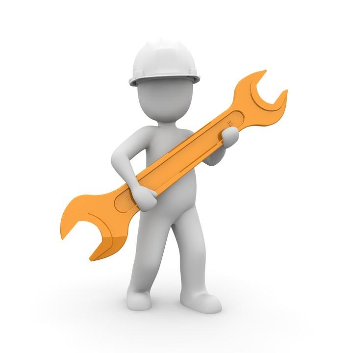 Craftsmen, Mechanic, Helm, Workers, Construction Work