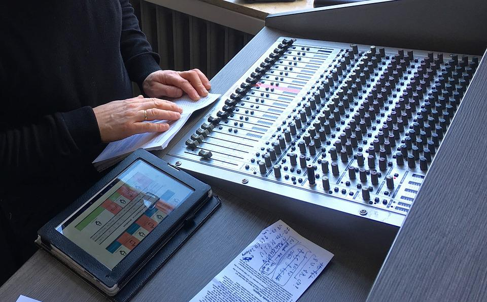 Workplace, Speakers, Sound, Hifi, Volume, Box