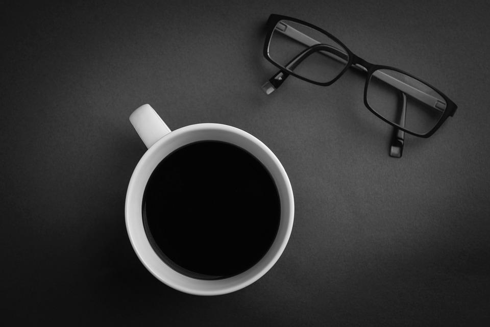 Coffee, Glasses, Workplace, Mug, Coffee Break, Cup