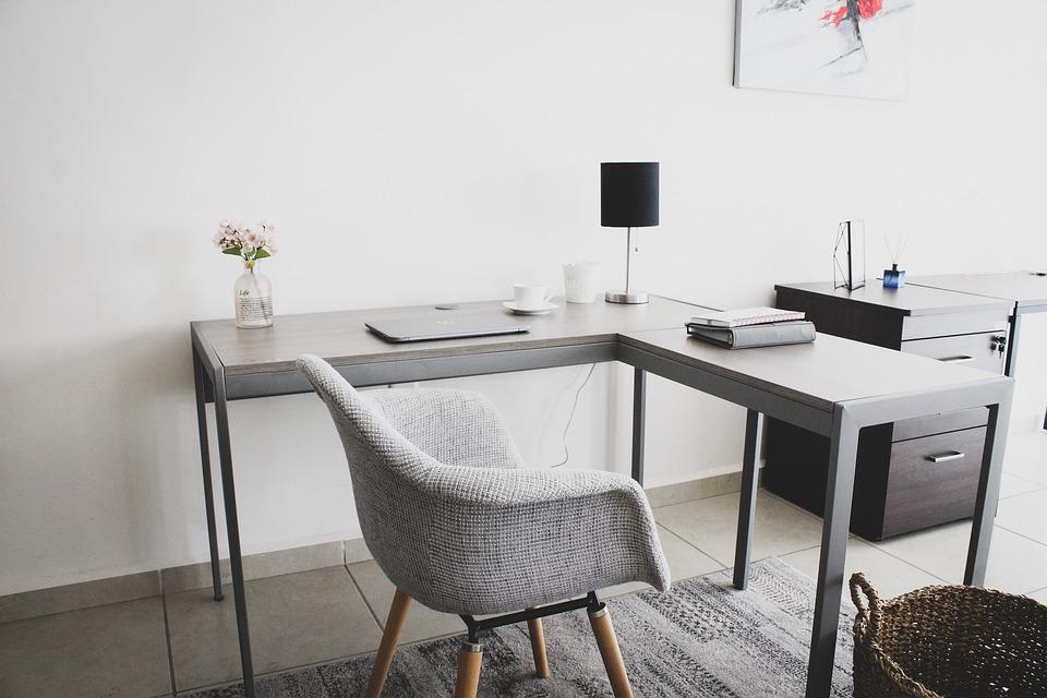 Workplace, Workspace, Home Office, Office, Desk, Laptop