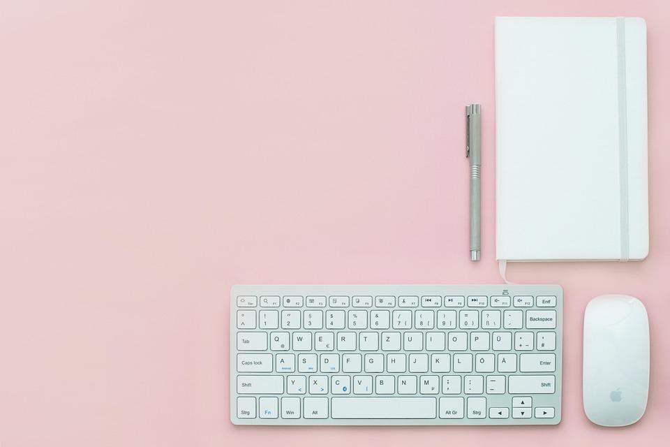 Workplace, Office, Desk, Business, Blogging, Work