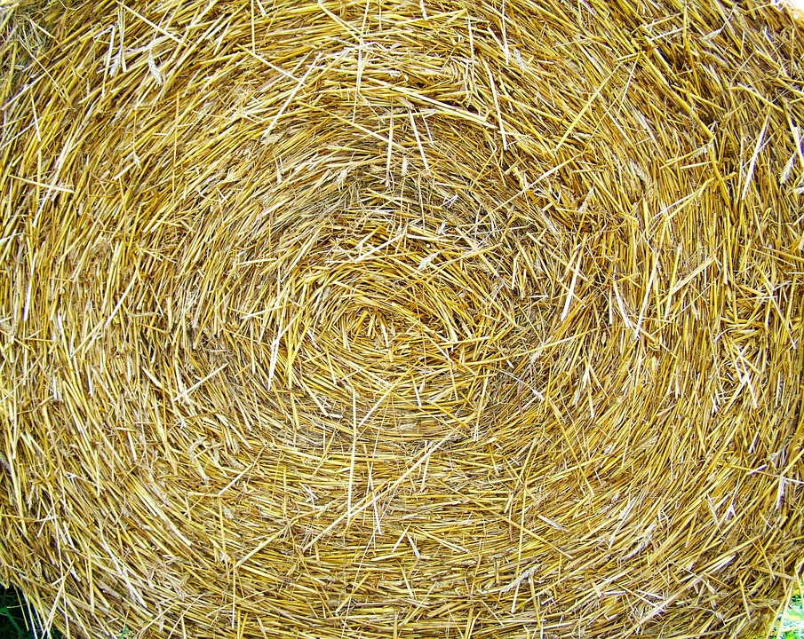 Straw Bale, Works, Compressed Grain Drying