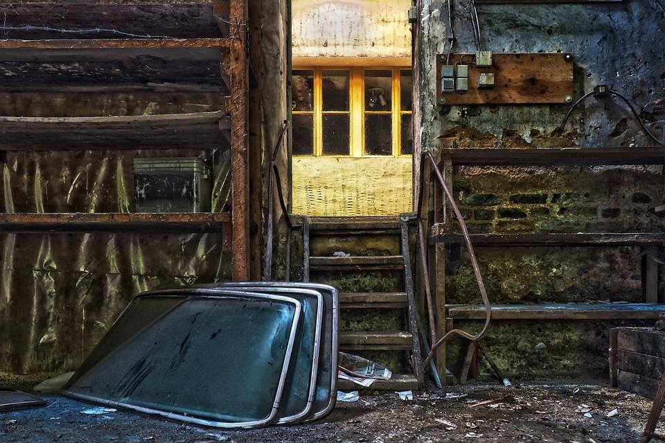 Lost Places, Workshop, Old, Abandoned, Pforphoto