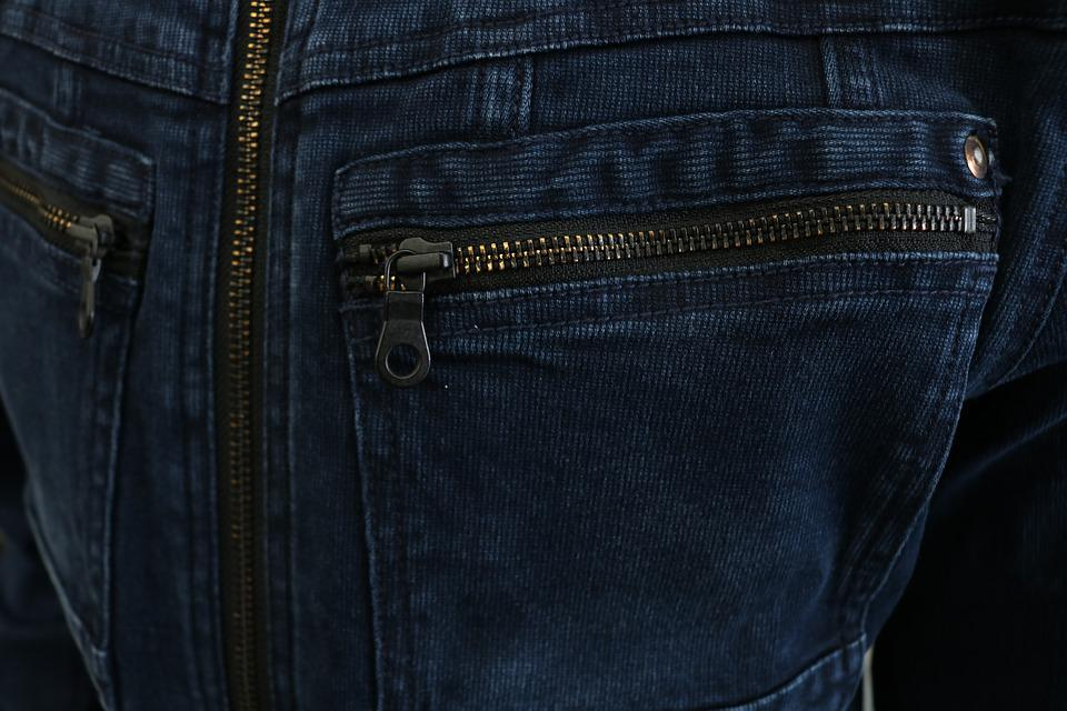 Denim, Workwear, Zipper, Pocket