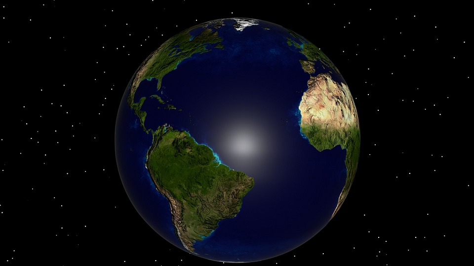 Earth, Planet, 5th Planet, World, Globe, Space, Science