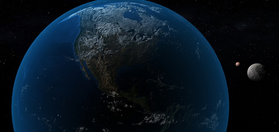 Earth, Planet 3d, World, Space, Geography