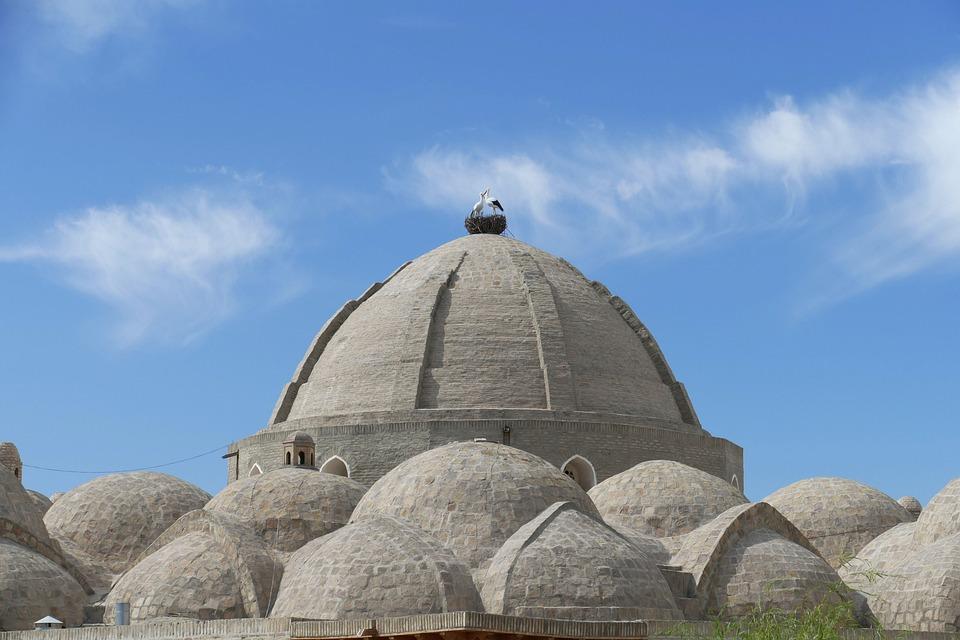 Uzbekistan, Bukhara, Architecture, Dome, World Heritage