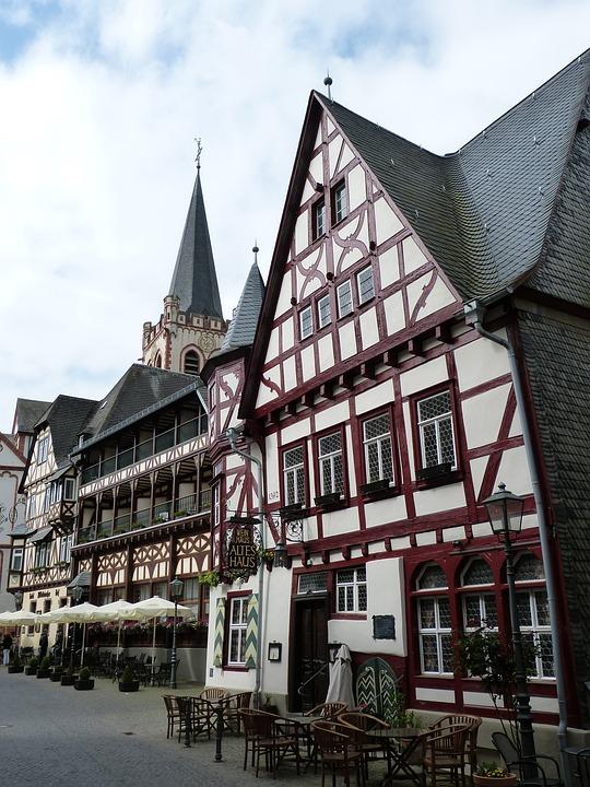 Bacharach, Middle Rhine, World Heritage, Historically