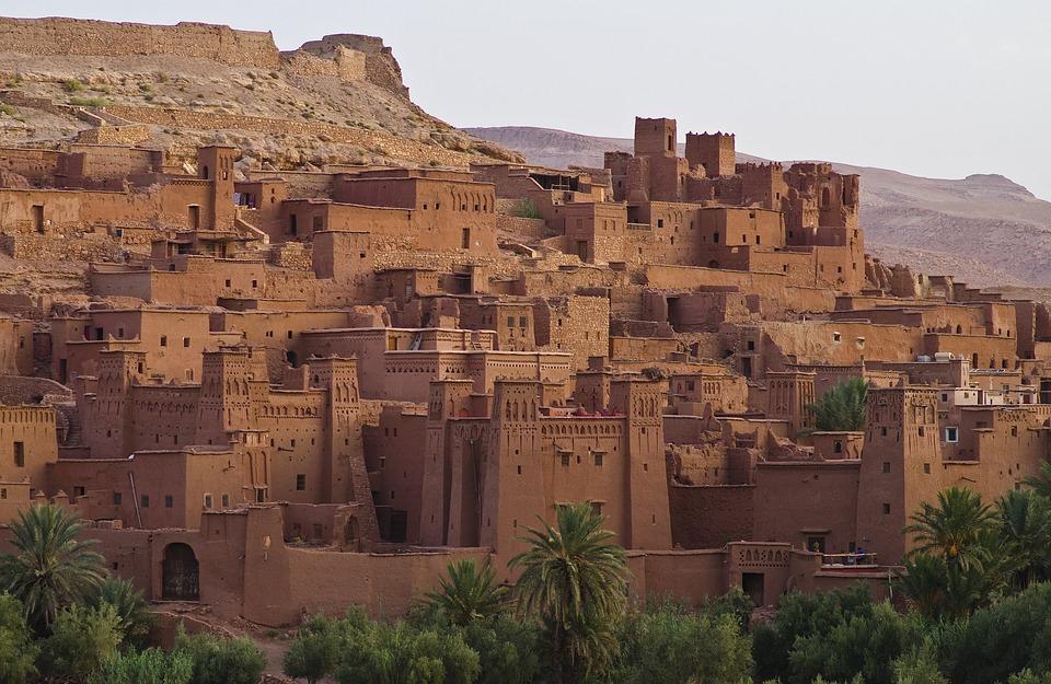 Ait Ben Haddou, World Heritage, Morocco, Oasis Town
