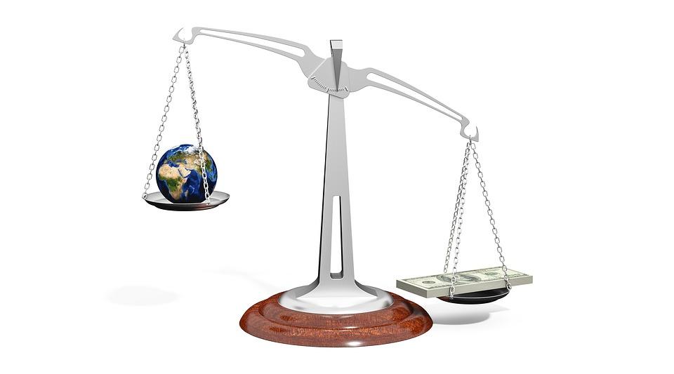 Scale, Balance, World, Globe, Money, Importance, Weight