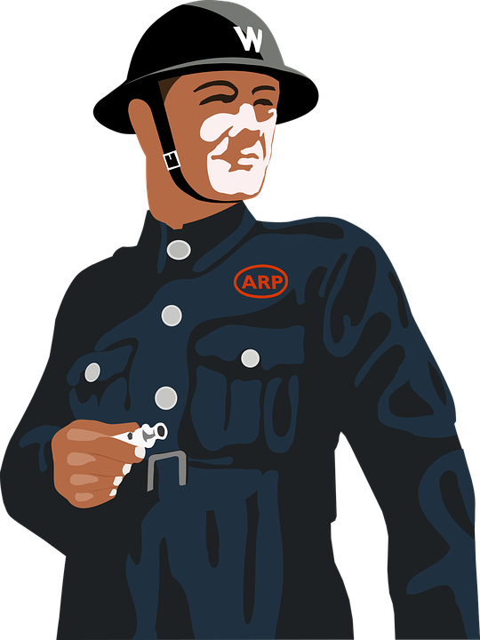Air Raid Warden, Second World War, World War 2