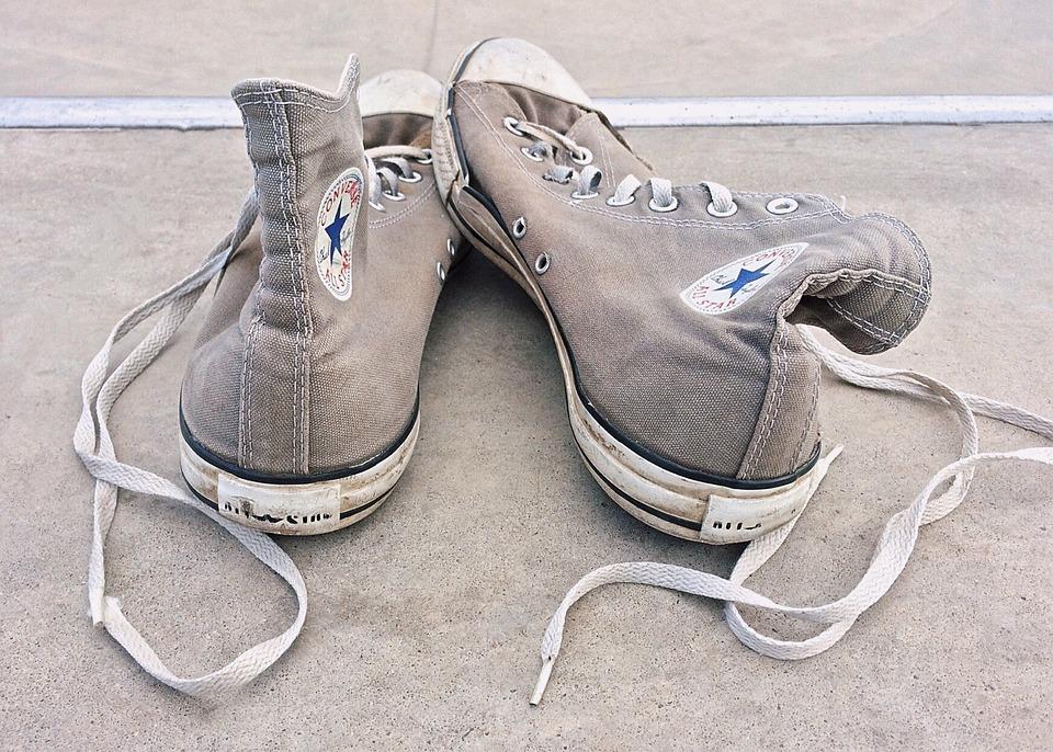 Sneakers, Chucks, Footwear, Worn, Lifestyle