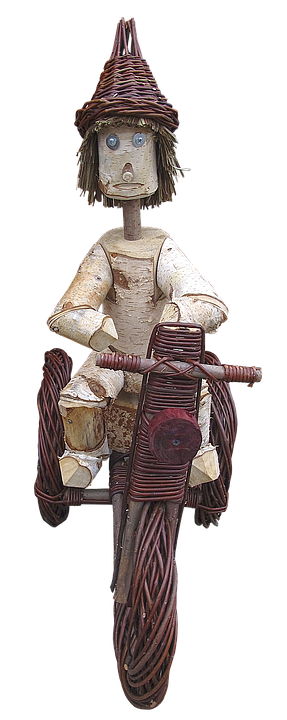 Tricycle, Basket Ware, Wood Elves, Woven, Craft